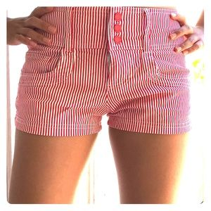Guess striped shorts